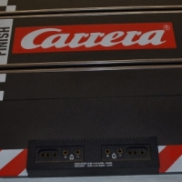 Carrera Start Straight with power supply connectors
