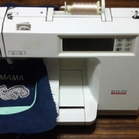 Bernina Deco 650 Embroidery Machine and accessories
