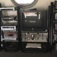 TV, DVD. CD stand