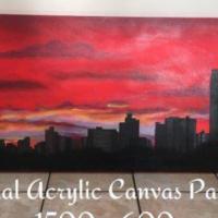 Original Acrylic Canvas Painting