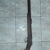 Martini Henry long rifle,Collectors item with 4 unused bullets