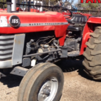 S2409 Red Massey Ferguson (MF) 165 45kW/65Hp 2x4 Pre-Owned Tractor