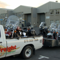 Motorcycle transport all over SA and Namibia