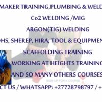 TrainingPlumbing,WElding,Fitter&turner,Carpentry