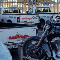 Transport for motorcycles all across SA and Namibia