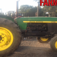 S684 Green John Deere 3130 60kW/80Hp 2x4 Pre-Owned Tractor