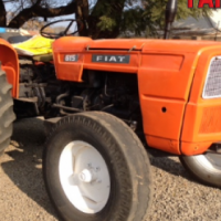 S2423 Orange Fiat 615 49kW/66Hp Pre-Owned Tractor