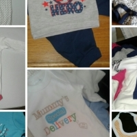 Brandnew chainstore baby clothing at R9 each