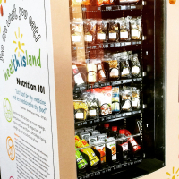 Healthy snack vending machine franchise