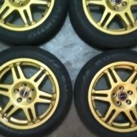 """Speedline 16"""" mags and tyres"""