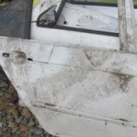 BMW E46 RIGHT REAR DOOR SHELL – USED