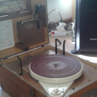 1962 Talking Book Record Player