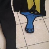 Scuba Suit, snorkel, dive bag
