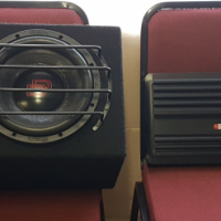 AMP + 10 INCH SUWOOFER
