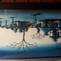 Framed painting for sale