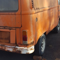 VW Panelvan for restoration