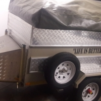 Brand new Bushy camp trailer