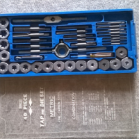 Tap and Die set 40pc RACO