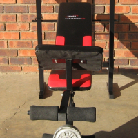 Trojan Bench & Weights