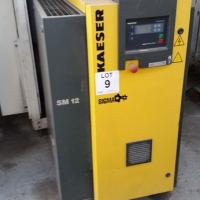 Kaeser SM12 Compressor