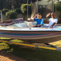 Bow Rider Ski boat