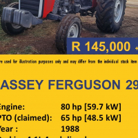 Massey Ferguson 290 Second Hand Tractor