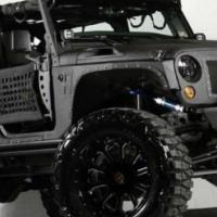 Jeep JK Wrangler Body Armour Accessories
