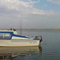 17ft Crestrider G7 cabin Boat, 60 hp yamaha hammer head