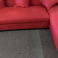 Red Corner Couch