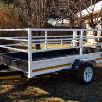 Trailer 3 meter by 1,5 meter by 900mm with gate