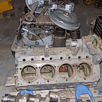 Deutz V8 Engine Project or Stripping for Spares