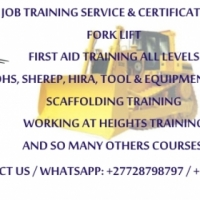 Training Grader,Dump truck,LHD Scoop,Drill Rig,Excavator,TLB,Fork lift. 0733862925