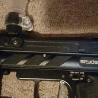 Spyder pilot ACS paintball marker