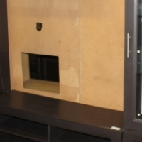 Brown wall unit S024673a