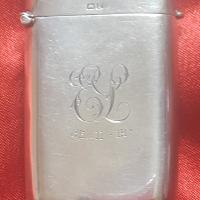Silver Vesta case 1919