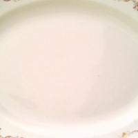 vintage meat plate