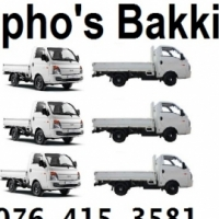 Sipho bakkies for hire 0764153581