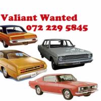 Valiant Wanted I buy Valiant