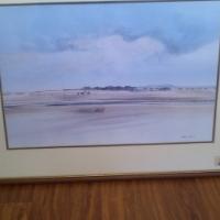Beautiful original oil paintig by renouned artist Richard Rennie for sale