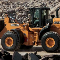 Loaders Case Front End Loader 1021 F