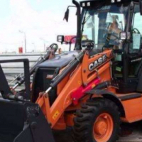 Backhoe Loader Case 580T