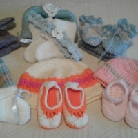 Knitted & Crochet Baby Clothes.