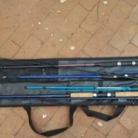 4 fishing rods in good condition