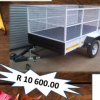 2.4m multipurpose trailer with mesh