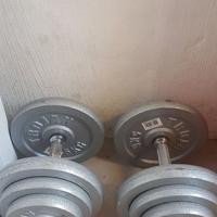 2 x 20kg dumbells for sale