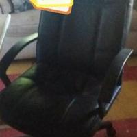 Leer kantoor stoel