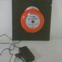 Original authentic fire alarm