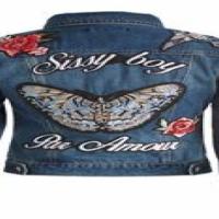 Denim Sissy boy jacket