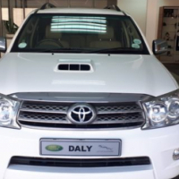 Toyota Fortuner 3.0D4D Raised body 4x4