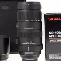 Sigma 120-400mm f/4.5-5.6 OSA DG PO